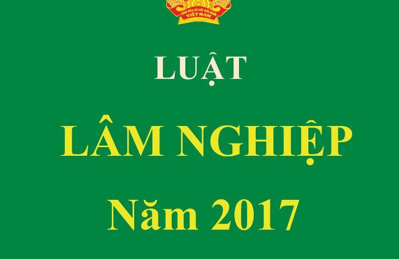 Luật Lâm nghiệp 2017