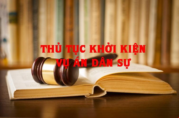 Thủ tục khởi kiện vụ án dân sự - hôn nhân - gia đình và Án phí