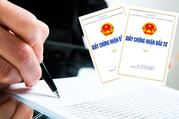 Nộp lại Giấy chứng nhận đăng ký đầu tư